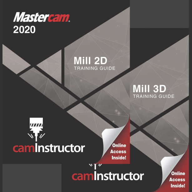 Preview of Mastercam 2020 Training Guide - Mill 2D & 3D Combo