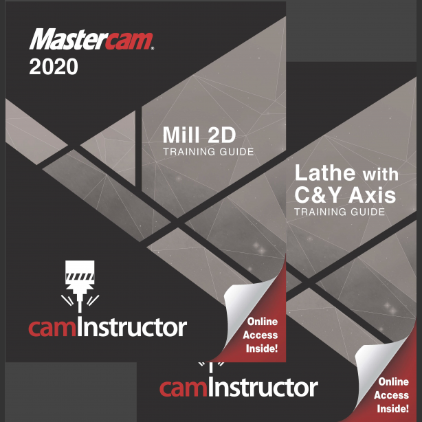 Preview of Mastercam 2020 Training Guide - Mill 2D/Lathe
