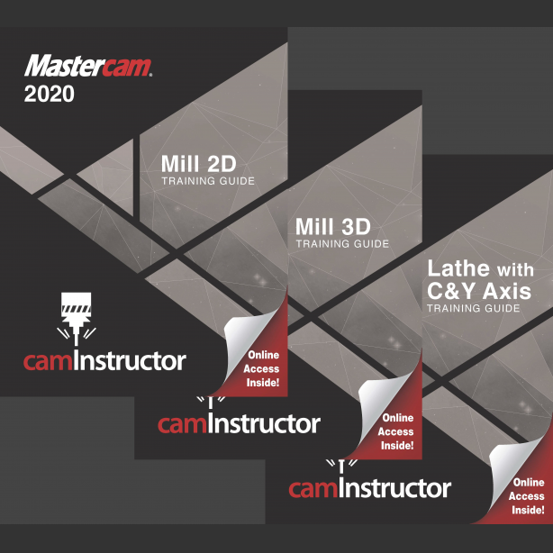 Preview of Mastercam 2020 Training Guide - Mill 2D&3D/Lathe