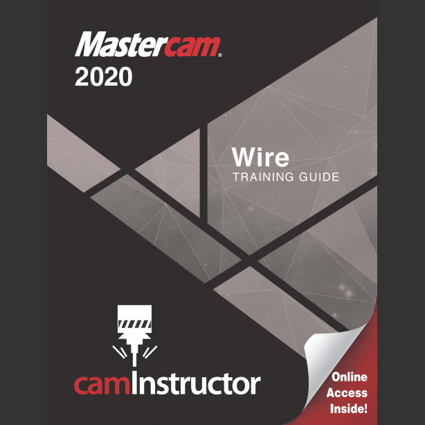 Preview of Mastercam 2020 Training Guide - Wire