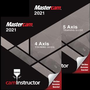 Mastercam 2021 - 4&5 Axis Combo