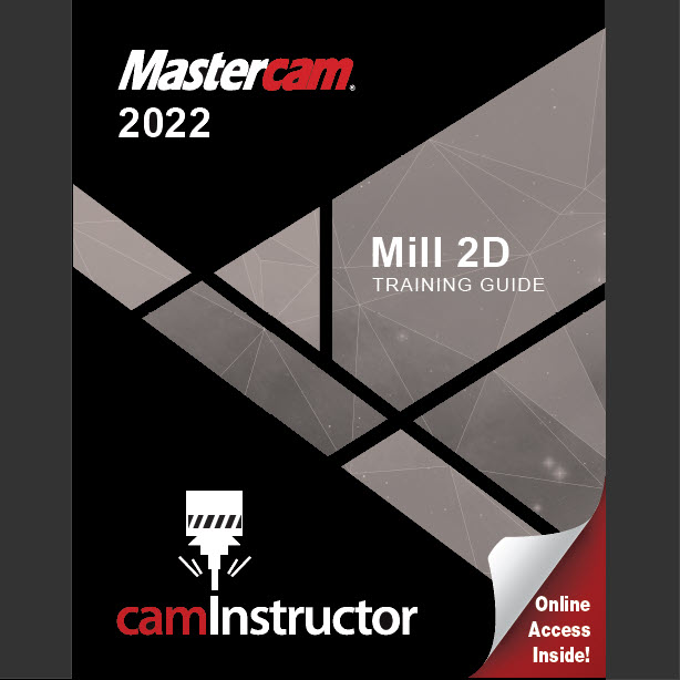 Preview of Mastercam 2022 - Mill 2D Training Guide